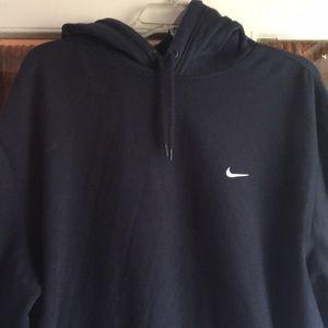 Men's xxl navy Nike hoodie
